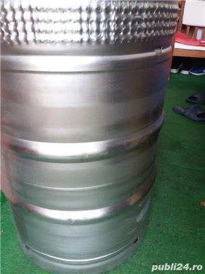 butoaie bere inox 60 l - imagine 2