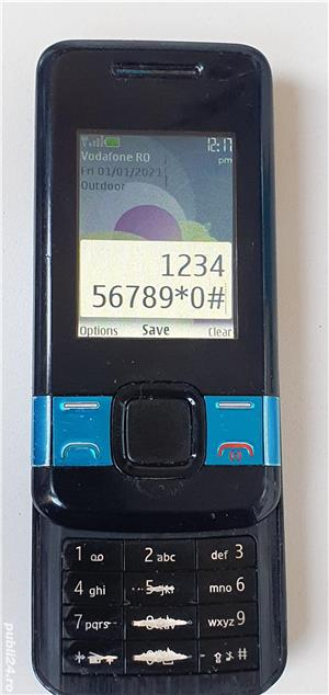 Nokia 7100s SUPERNOVA BLUE - 2008 - liber - imagine 2