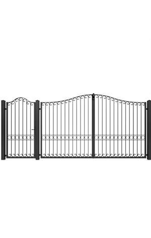Porți metalice diferite modele  - imagine 5