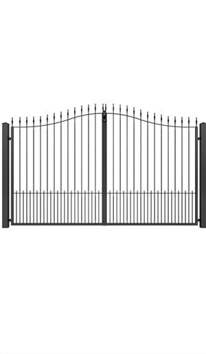 Porți metalice diferite modele  - imagine 6