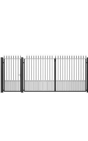 Porți metalice diferite modele  - imagine 4