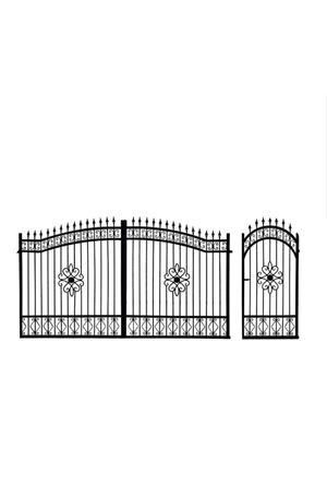 Porți metalice diferite modele  - imagine 9