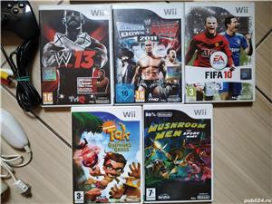 Consola Nintendo Wii completa, cu toate accesoriile & jocuri incluse! - imagine 4