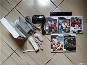 Consola Nintendo Wii completa, cu toate accesoriile & jocuri incluse! - imagine 8