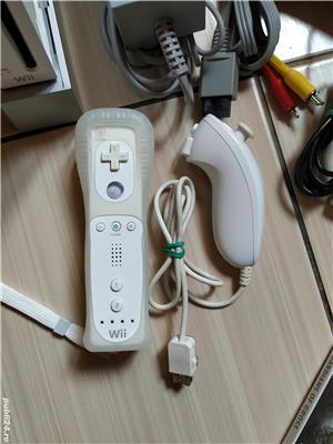 Consola Nintendo Wii completa, cu toate accesoriile & jocuri incluse! - imagine 3