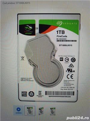 SSHD 1TB 8GB Nand Seagate Firecuda ST1000LX015 - imagine 1