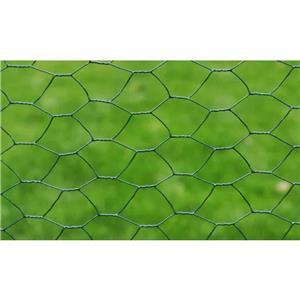 vidaXL Gard de plasă, verde închis, 1 x 25 m, oțel galvanizat, hexagon vidaXL(140118) - imagine 3