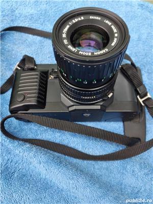 Aparat Foto Canon T70 vechi cu obiecttiv - imagine 3