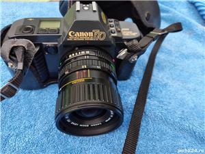 Aparat Foto Canon T70 vechi cu obiecttiv - imagine 1