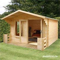 Cabane, căsuțe de lemn, la prețuri accesibile  - imagine 3