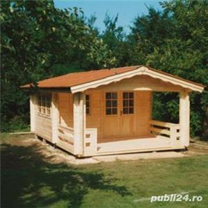 Cabane, căsuțe de lemn, la prețuri accesibile  - imagine 2