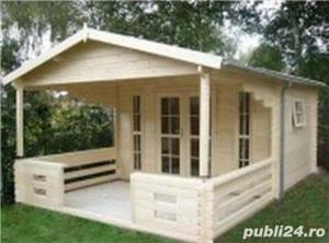Cabane, căsuțe de lemn, la prețuri accesibile  - imagine 6
