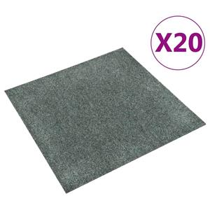 vidaXL Dale mochetă pentru podea, 20 buc., verde, 5 m  vidaXL(322421) - imagine 1