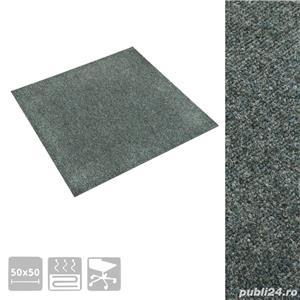 vidaXL Dale mochetă pentru podea, 20 buc., verde, 5 m  vidaXL(322421) - imagine 3