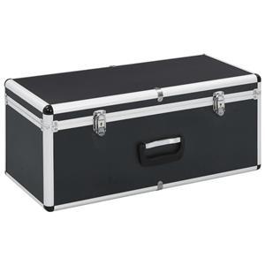 vidaXL Cutii de depozitare, 2 buc., negru, aluminiu vidaXL(91851) - imagine 4