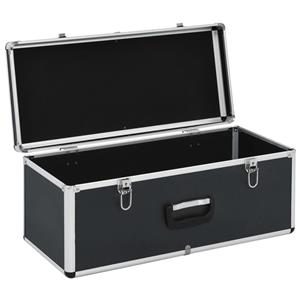vidaXL Cutii de depozitare, 2 buc., negru, aluminiu vidaXL(91851) - imagine 1