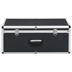 vidaXL Cutii de depozitare, 2 buc., negru, aluminiu vidaXL(91851) - imagine 5