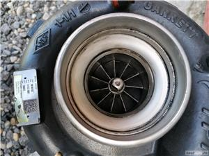 5801661503 5801661502 GARRETT Turbosuflanta Iveco Trakker Cursor 9 Euro 6 - imagine 4