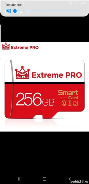 Vand card micro SD,nou,256 Gb, marca Extreme Pro - imagine 2