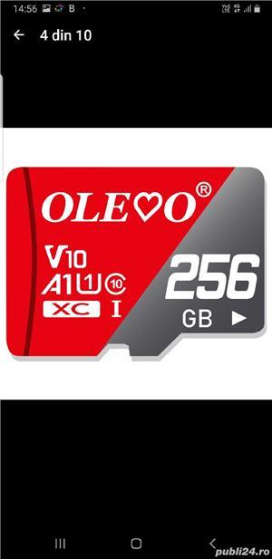 Card micro SD nou, 256 Gb, marca Olevo - imagine 1
