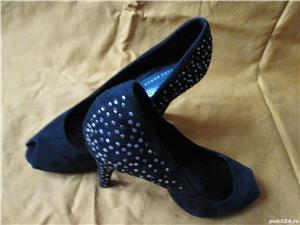 Pantofi ZARA din piele intoarsa - imagine 5