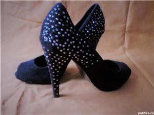 Pantofi ZARA din piele intoarsa - imagine 7