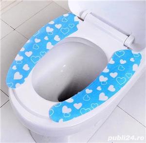 Huse capac WC reutilizabile  - imagine 5