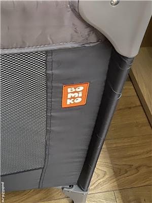 Pătuț pliabil cu un nivel Bomiko  - imagine 2