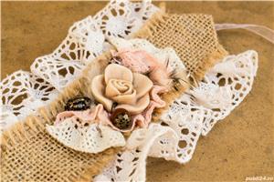 Manseta handmade unicat - imagine 1