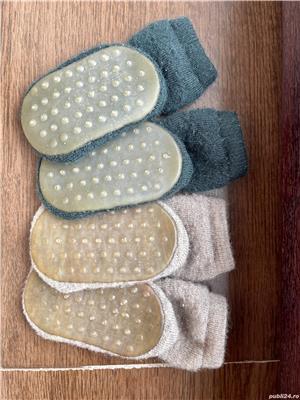 Șosete-papuci groase mp Denmark lână merinos  - imagine 4