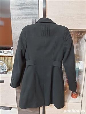 Palton negru dama - imagine 1