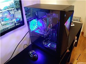 Unitate Pc Gaming Intel Core I3 8100+16Gb DDR4+SSD 240Gb+AMD RX570 4Gb - imagine 2