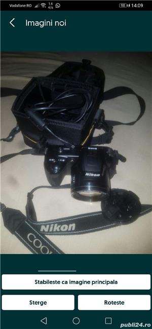 Aparat foto digital Nikon Coolpix L110, Negru - imagine 1