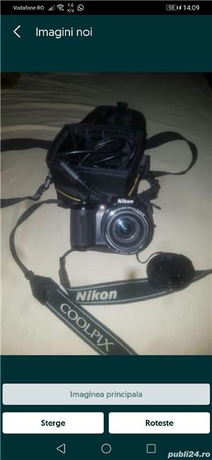 Aparat foto digital Nikon Coolpix L110, Negru - imagine 3