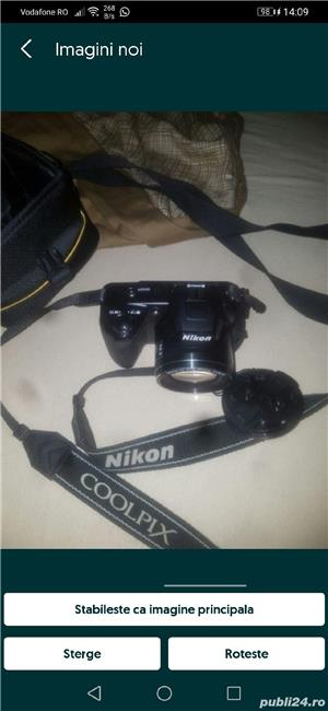 Aparat foto digital Nikon Coolpix L110, Negru - imagine 2
