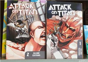 Manga attack on titans volumele 1 si 2. - imagine 1