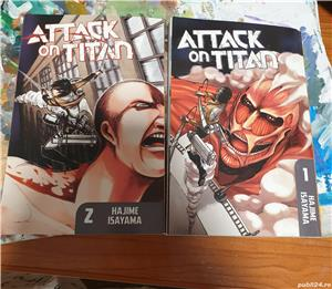 Manga attack on titans volumele 1 si 2. - imagine 2