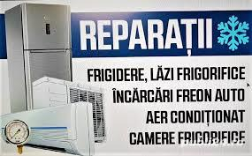 Reparatii vitrine frigorifice,frigidere-incarcare freon - imagine 2