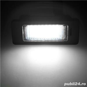 Set lampa numar led BMW E39 E46 E53 E60 E70 E71 E72 E82 E90 F10 F30 - imagine 3