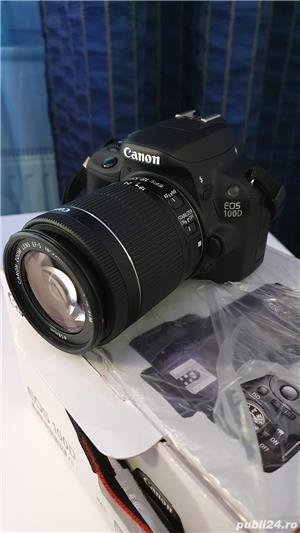Camera aparat foto DSLR Canon EOS 100D fullbox - imagine 5