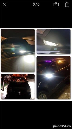 Set Lampa Led sub oglinda VW Passat golf 5 jetta Sharan - imagine 2