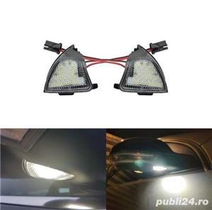 Set Lampa Led sub oglinda VW Passat golf 5 jetta Sharan - imagine 1
