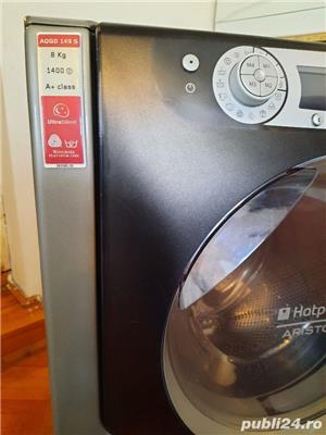 Vand masina de spălat  Ariston 8kg gri - imagine 4