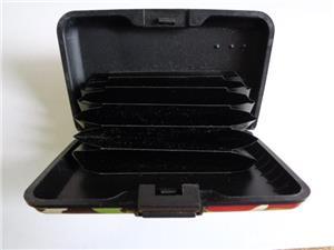 wallet(portofel alumini_port card)ptr.securitatea cardurilor - imagine 2