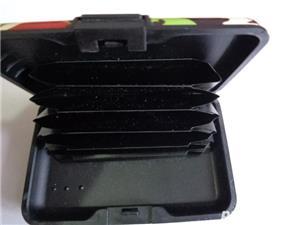 wallet(portofel alumini_port card)ptr.securitatea cardurilor - imagine 3