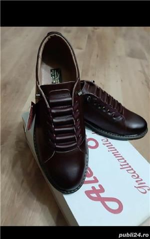 pantofi barbati model AȘ- piele naturala 100%  - imagine 6