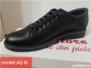 pantofi barbati model AȘ- piele naturala 100%  - imagine 2