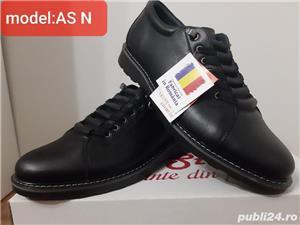 pantofi barbati model AȘ- piele naturala 100%  - imagine 3