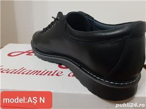 pantofi barbati model AȘ- piele naturala 100%  - imagine 10