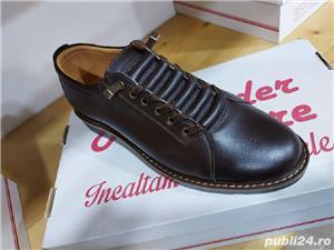 pantofi barbati model AȘ- piele naturala 100%  - imagine 7